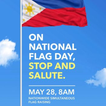 STOP AND SALUTE for the National Flag Day